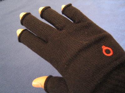自転車用の手袋