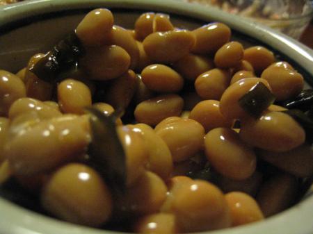 高級な昆布豆よん