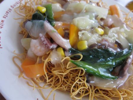 [ニッスイ]長崎風 海鮮皿うどん いかがでしょうか。