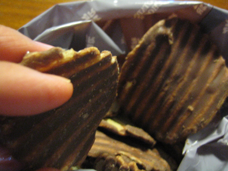 ポテトチップチョコレート とまりません