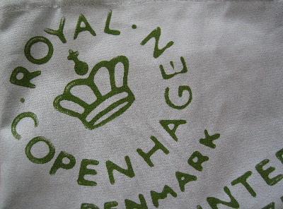 ロイヤルコペンハーゲンの、高貴なロゴ
