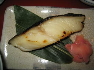 鈴波の「味淋粕漬」お店で食べると