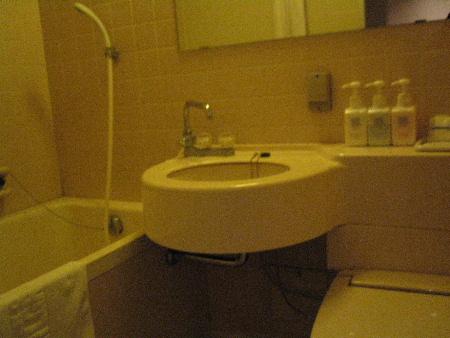 ホテルイルグランデ梅田のバスルーム