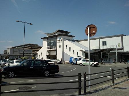 京都の宇治駅