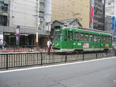 ガタゴトごっとん 札幌市内を走る路面電車