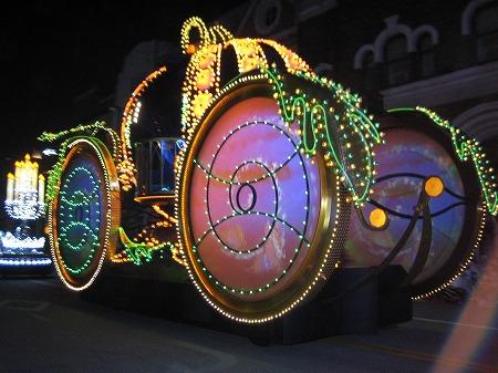妖精が用意した かぼちゃの馬車